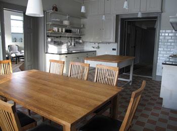 Kökte i lägenheten på Grimstorp