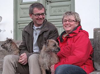 Gunnar & Eva Hartelius på Grimstorps Herrgård