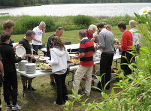 Möten på Grimstorp, inspelningen av Änglagård 2010.